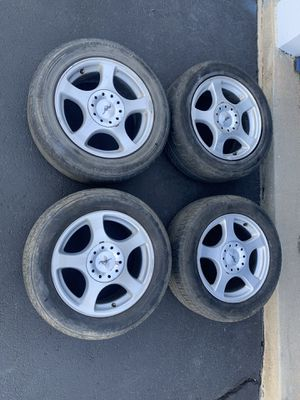 4***16 inch stock Ford Mustang Rims**Good condition for Sale in Glendale, CO