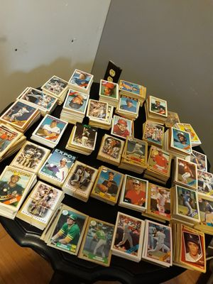 Valuable Baseball cards 10cents each for Sale in Lithonia, GA