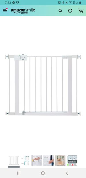 New metal Baby or pet gate for Sale in Fort McDowell, AZ