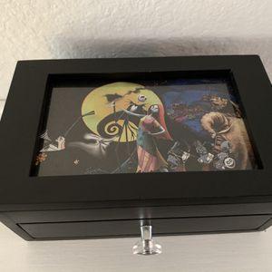 Disney's Nightmare before Christmas Jewelry Box/ Keepsake for Sale in Fontana, CA
