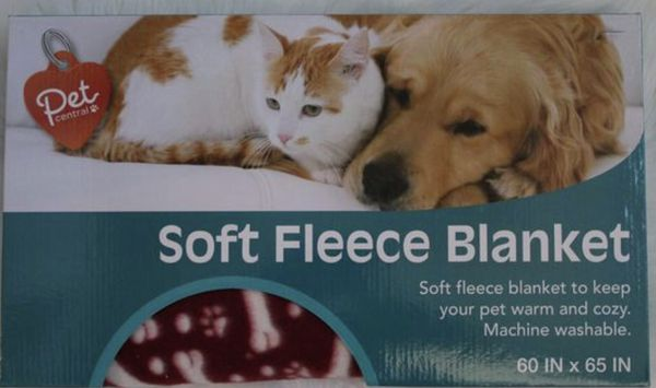 Soft Fleece Pet Blanket NEW, Never Opened (pick up only )