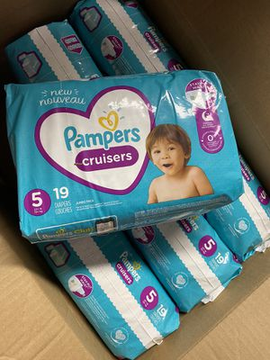 Pampers cruisers size 5 for Sale in Burbank, CA