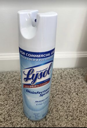 Disinfect spray for Sale in Durham, NC