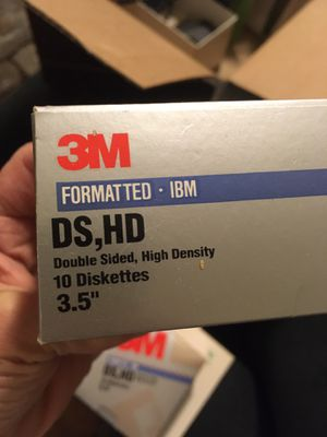 "3M brand 3.5"" floppy disk for Sale in Winston-Salem, NC"