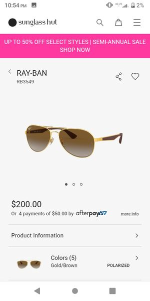 Ray-Ban sunglasses limited edition rb3549 for Sale in Vancouver, WA