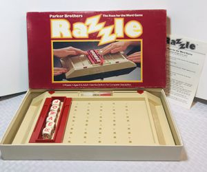Vintage 1981 Parker Bros. Razzle Board Game for Sale in Central Falls, RI