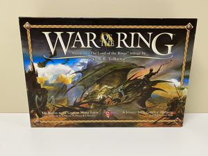 War of the Ring Strategy Board Game based on LOTR 1st Edition New, never played with. for Sale in Hayward, CA