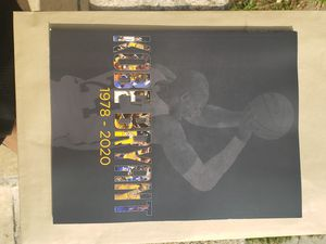 Last 2 copies shipping out The Los Angeles Kobe Bryant 1978 - 2020 LIMITED EDITION for Sale in Los Angeles, CA