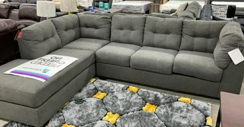 🤞🤞$39 Down Payment. 👈 maier charcoal sectional Bu Ashley for Sale in Washington,  DC