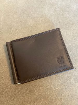 Vera Pelle brown leather wallet bifold for Sale in Los Angeles, CA