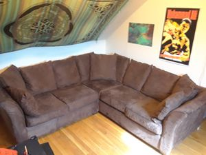 """Sectional couch 8ft by 38"""" for Sale in Boston, MA"""