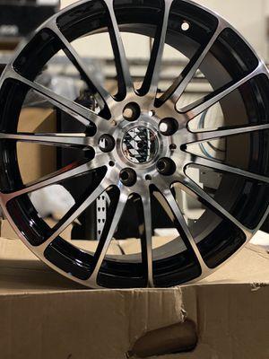 17x7.5 Force 5 Inovit Rims 5x110 +42 for Sale in El Monte, CA