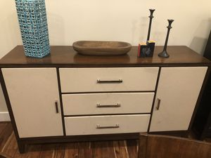 DINING SET BUFFET TABLE for Sale in Westlake, MD
