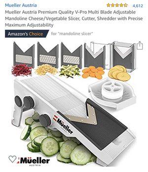 Brand New Mueller Austria Mandoline Cheese Vegetable Slicer for Sale in Seattle, WA