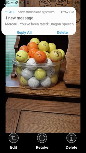 54 USED GOLF BALLS ASSORTED TITLES for Sale in Lynchburg, VA