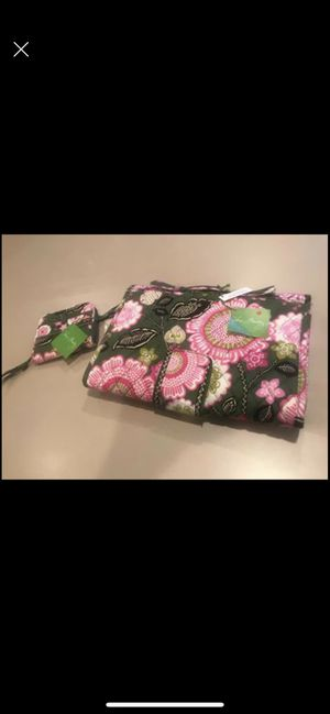 Changing Pad Clutch Olivia Pink and Compact Zip-Around Wallet Olivia Pink for Sale in Forney, TX