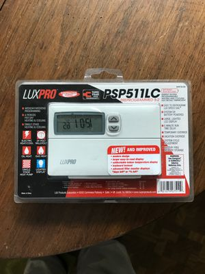New programmable thermostat Luxe Pro for Sale in Columbus, OH
