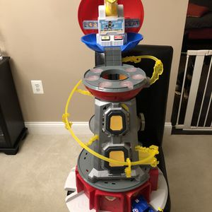 Paw Patrol Mighty Pups Tower for Sale in Leesburg, VA