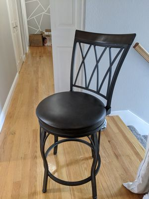 FOUR swivel bar stools for Sale in Kirkland, WA