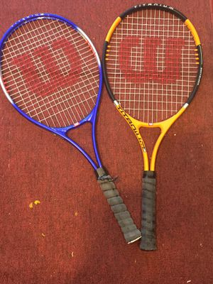 Tennis rackets set of 2 for Sale in Ann Arbor, MI