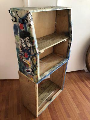 Graffiti Guitar Speaker Cabinet Bookshelves for Sale in Miami, FL