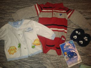 Baby BOY BUNDLE size 3-6 months *YARD SELL!!** for Sale in San Antonio, TX