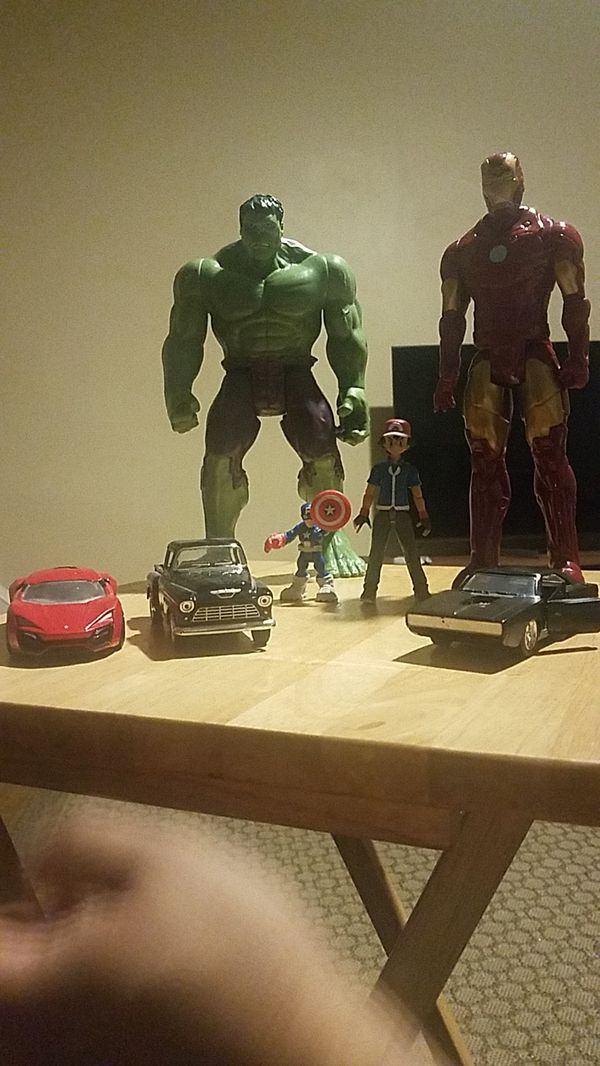 Cars and marvel hereos