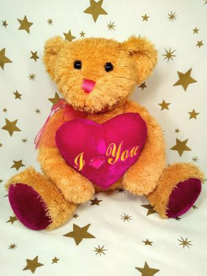 "Dan Dee Teddy Bear Stuffed Animal with I Love You Heart 12"" for Sale in Tacoma, WA"