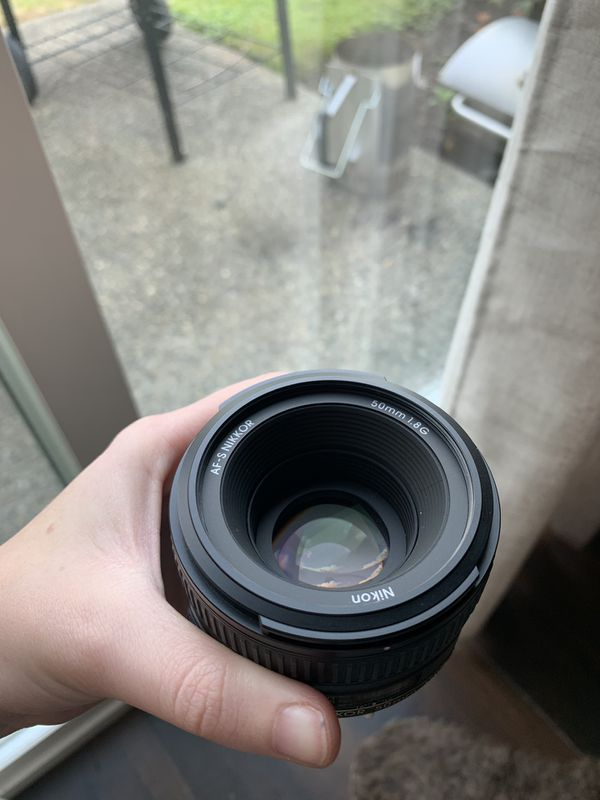 Nikon Nikkor 50 mm 1.8G
