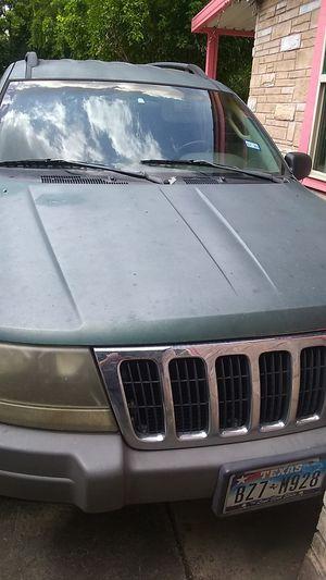 2002 Grand Cherokee for Sale in San Antonio, TX