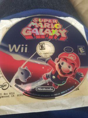 Super mario galaxy Nintendo wii for Sale in Vallejo, CA