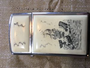 Zippo whaler ship lite lighter for Sale in Raleigh, NC