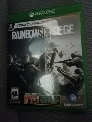 Xbox one rainbow six siege for Sale in Santa Ana, CA