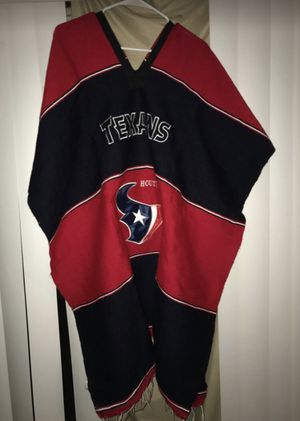 HOUSTON TEXANS PONCHO for Sale in Houston, TX