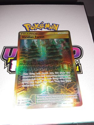 Pokemon cards Viridian Forest secret rare unified Minds for Sale in Philadelphia, PA