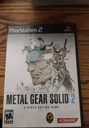 Metal Gear Solid 2 for PlayStation 2 for Sale in Lewis Center, OH
