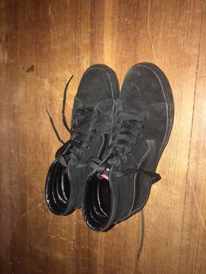 Black Vans for Sale in Springfield, MA