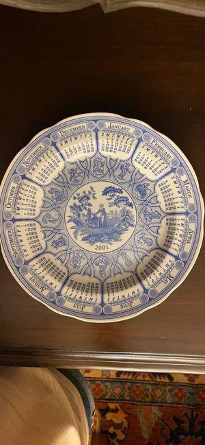 Spode Blue Calendar plate for Sale in Orlando, FL