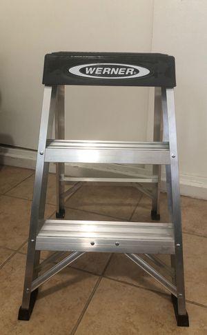 Werner 2 step ladder for Sale in Downey, CA