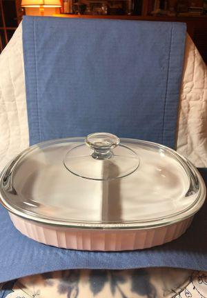 Corning Ware French White Divided Dish for Sale in Texas City, TX