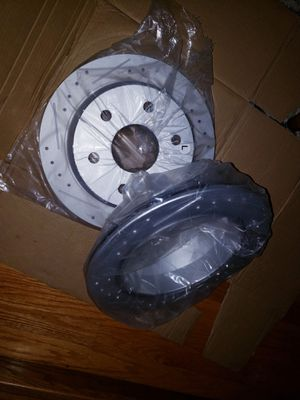 99 - 06: GMC/CHEVY Drilled/slotted rear rotors for Silverado 1500 or Sierra 1500 for Sale in Blue Island, IL