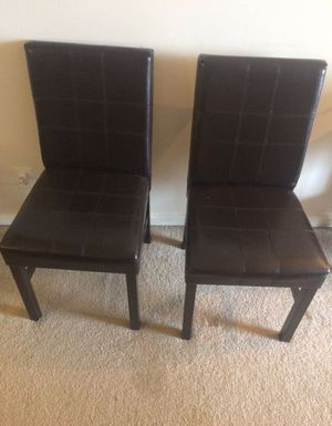 Adjustable dining table with two chairs for Sale in Arlington, VA