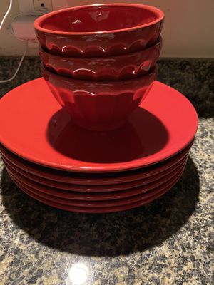 Crate and barrel plates for Sale in Alexandria, VA