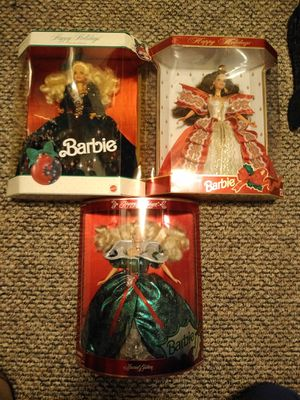 Holiday Barbies Special Editions for Sale in Lacey, WA