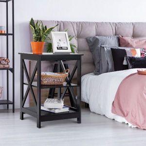New 3-Tier Living Room Display Storage Shelf Nightstand for Sale in Los Angeles, CA
