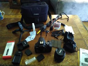 Cannon Rebel T6 camera and accessory kit for Sale in Niagara Falls, NY
