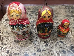 Matryoshka antique dolls for Sale in Los Angeles, CA