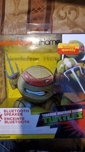 BLUETOOTH SPEAKER TMNT for Sale in El Mirage, AZ