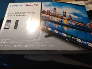 "Brand New Phillips 32"" Roku smart TV for Sale in Jefferson City, MO"