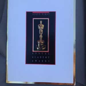 61st Annual Academy Awards Program for Sale in Los Angeles, CA